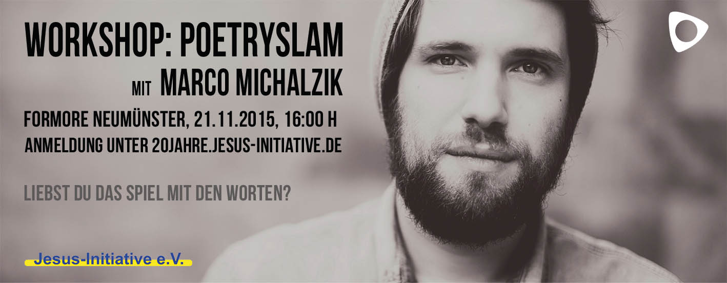 Workshop: Poetryslam mit Marco Michalzik