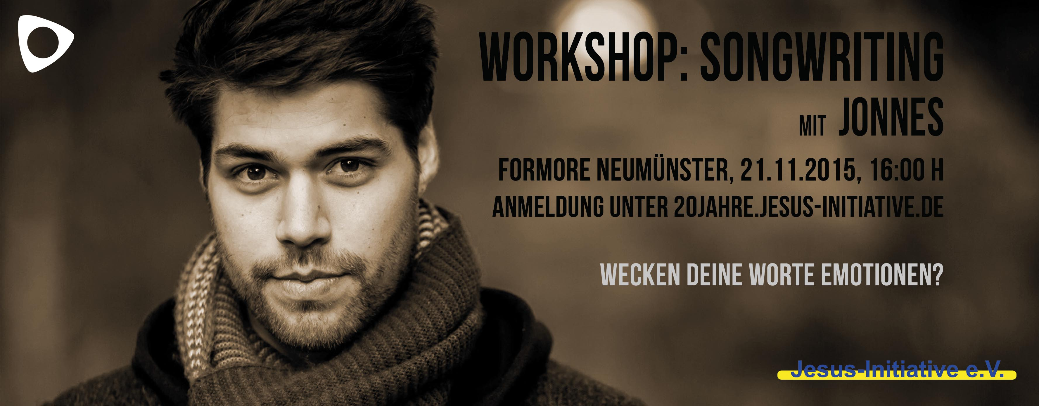 Songwriting Workshop mit Jonnes